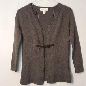 Ellen Tracy 100% extra fine merino wool sweater Sm